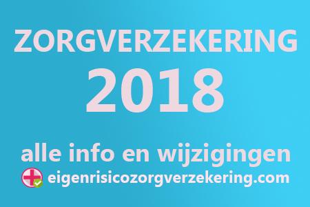 Zorgverzekering 2018 wijzigingen